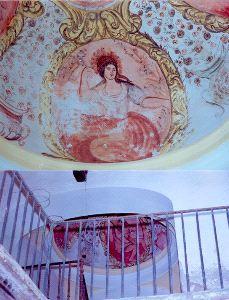 Cúpula Casa Lafont. Fotografía Diario Sur