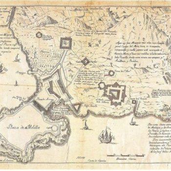 Plano del Sitio de 1774-75