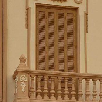 Balcón en Avda. Reyes Católicos