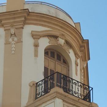 Balcón piso superior