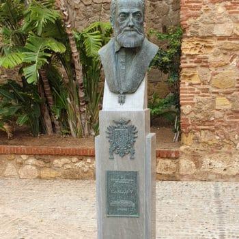 Busto del emperador