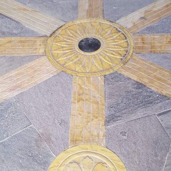 Capilla de Santiago. Detalle suelo 02