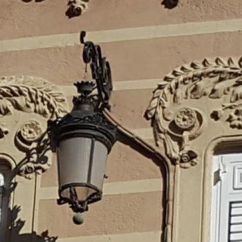 Decoración de los balcones
