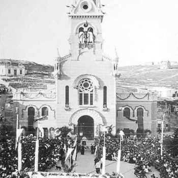 Iglesia Sagrado Corazon-Melilla 19-05- 1918