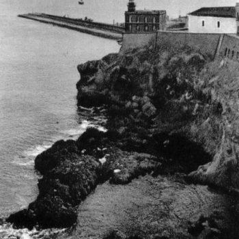 Muralla de las Cruces y Faro