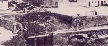 Panorámica antigua del puente