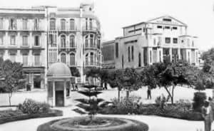 Panorámica desde la Plaza de España