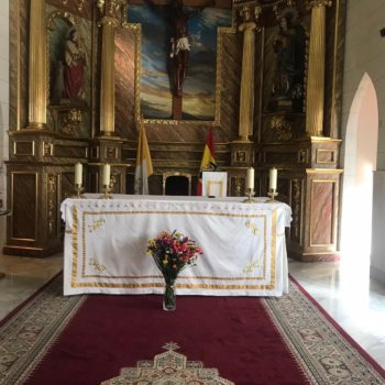 Altar mayor, Fotografía Francisco Sierra
