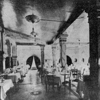 Antiguo salón del hotel