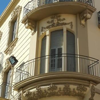 Balcones en esquina