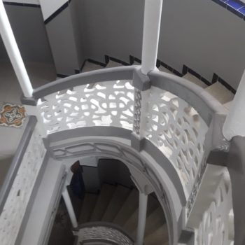Caja de escalera. Fotografia de Chelo Ortiz