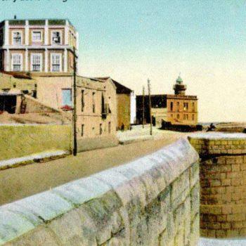 Casa Ferrer y el Faro