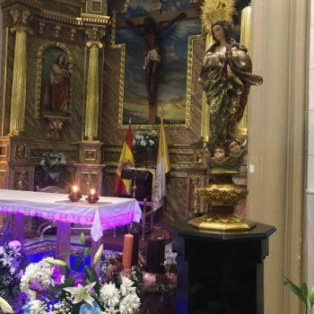 Celebración de la Inmaculada Concepción. Fotografía Carlos Rubiales