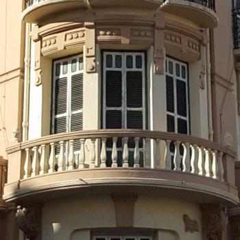 Edificio El Acueducto. Balconada