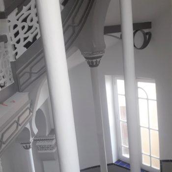 Escaleras de acceso 01. Fotografía Chelo Ortiz