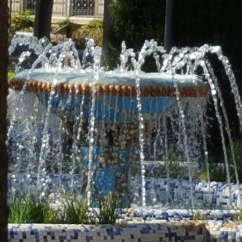 Fuente en el parque Hernández