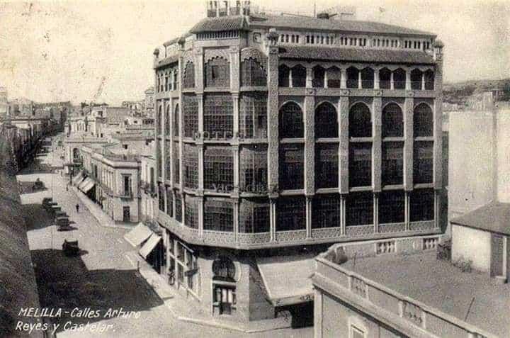 Gran Hotel Reina Victoria en el pasado siglo