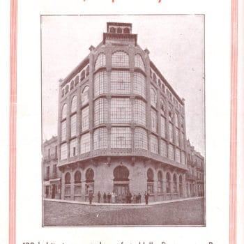 Hotel Victoria. Anuncio Feria 1933