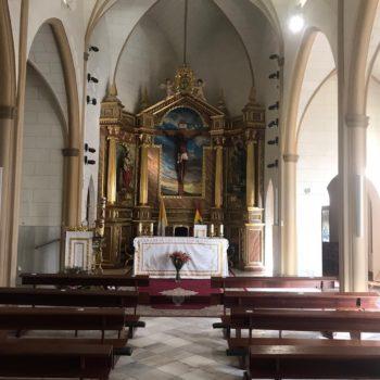 Iglesia Castrense. Nave central. Fotografía Francisco Sierra