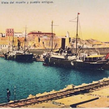 Panorámica de la Torre del Vigia de Mar desde el Puerto