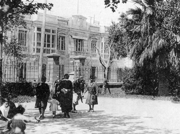 Parque Hernández en el pasado siglo 01