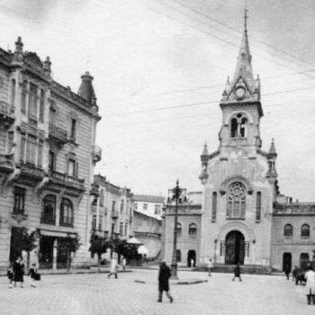 Plaza Menéndez Pelayo en el siglo XX