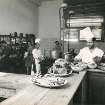 Antiguo Hotel Rusadir. Cocina.