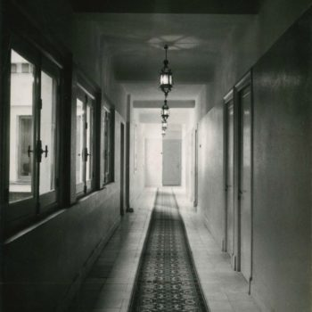 Antiguo Hotel Rusadir. Pasillo. Fotografía AGML