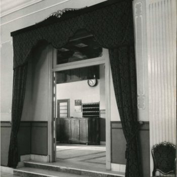 Antiguo Hotel Rusadir. Recepción. Fotografía AGML