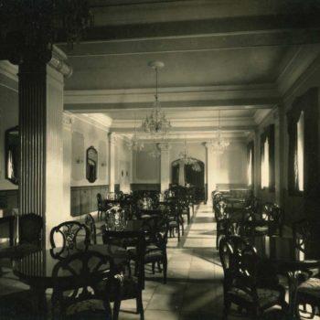 Antiguo Hotel Rusadir. Salón. Fotografía AGML