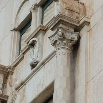 Banco de España. Detalle fachada principal 01
