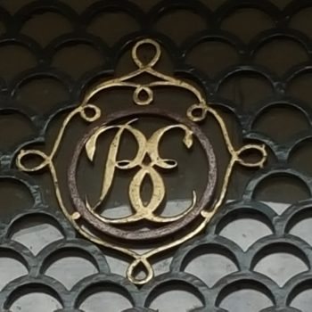 Banco de España. Iniciales puerta de entrada