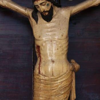 Cristo de la Vera Cruz.Fotografía de Miguel Gómez Bernardi