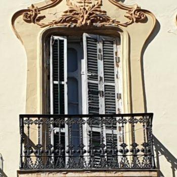Edificio La Llave. Detalle balcón