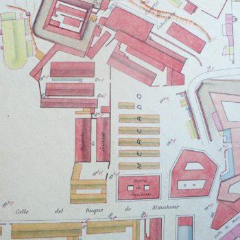 Mantelete Mercado Plano 1913