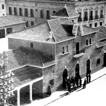 Estación de autobuses de Melilla 1951