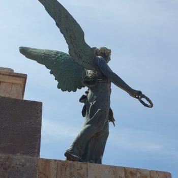 Panteón de Héroes. Diosa Nike