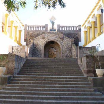 Panteón de Héroes. Escalinata de acceso