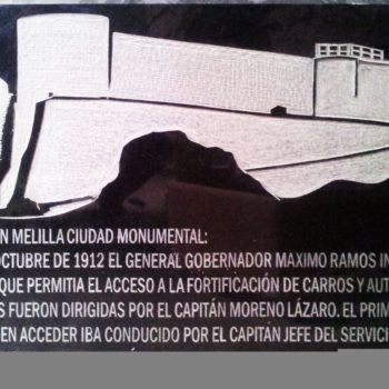 Placa conmemorativa Centenario de la Cuesta 1912- 2012