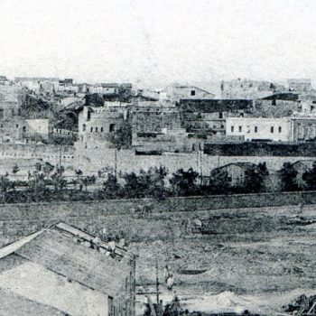 Plaza Culturas año 1910