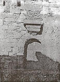 Puerta de entrada al Fuerte de San Miguel