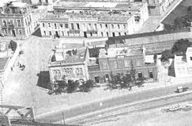 Vista aérea de la Casa de Socorro. Fotografía de Alcántara.forogratis.es