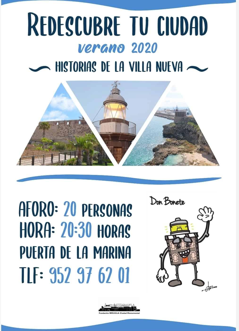 Cartel Historias de la Villa Nueva