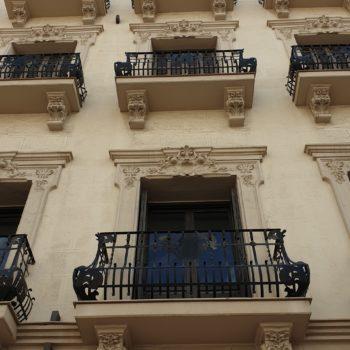 Casa Baños. Fachada a Avda. Juan Carlos I Rey