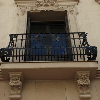 Casa de Baños. Detalle balcón