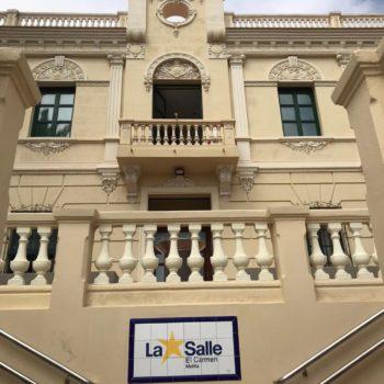 Colegio La Salle El Carmen. Detalle de la Fachada principal. Fotografía de Carmen Camargo