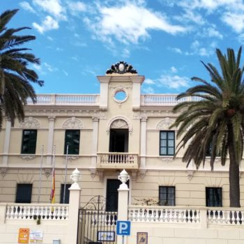 Colegio La Salle El Carmen. Fachada principal. Fotografía Carmen Camargo