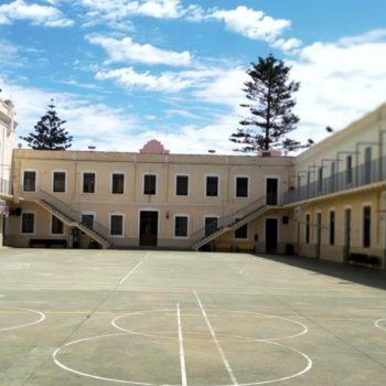 Colegio La Salle El Carmen. Patio 01. Fotografía de Carmen Camargo