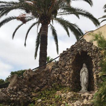 Colegio La Salle El Carmen. Virgen de Lourdes. Fotografía de Carmen Camargo