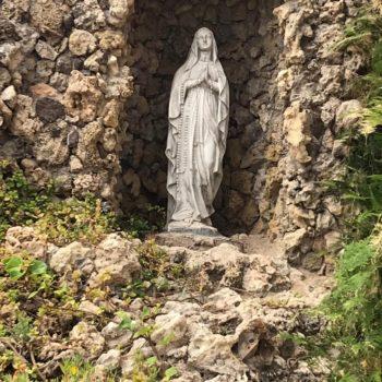 Colegio la Salle El Carmen. Virgen de Lourdes 02. Fotografía de Carmen Camargo